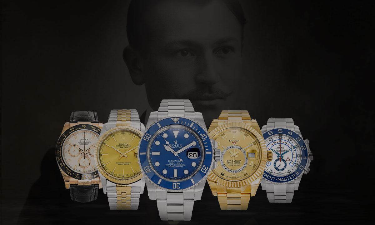 کالکشن مدل های مختلف ساعت رولکس